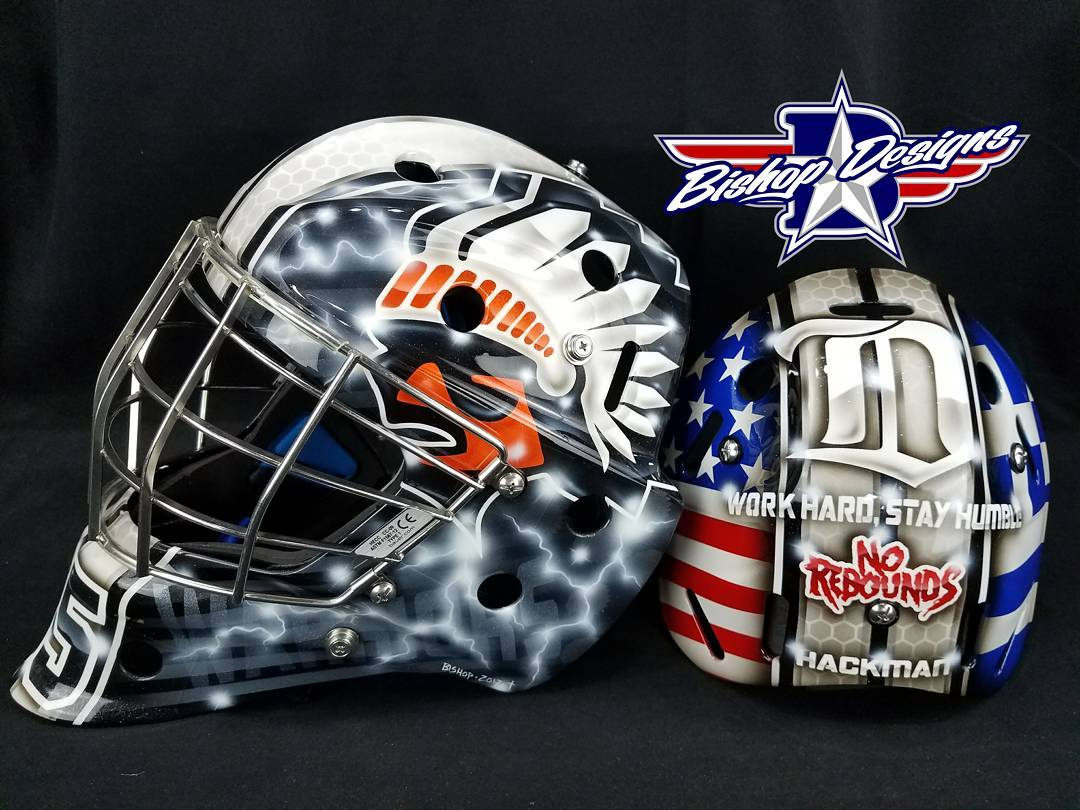 Here is the custom painted mask for the futureprogoalieschool USAhellip