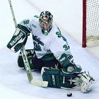 Regrann from thegoalnet  Guess Below NameThatGoalie   Hmmmhellip