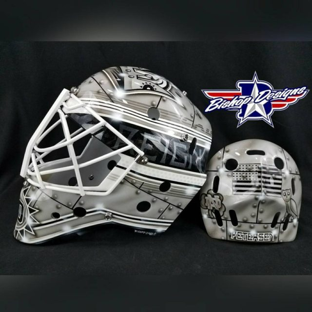A little ol school Patrick Roy inspiration for calpetersen40 lakingshellip