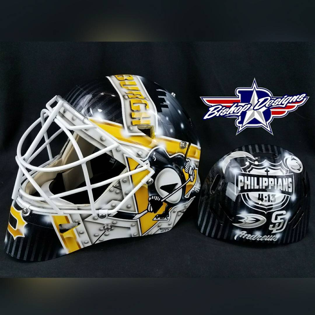A little bit of Pittsburgh love  on this warwickmaskhellip