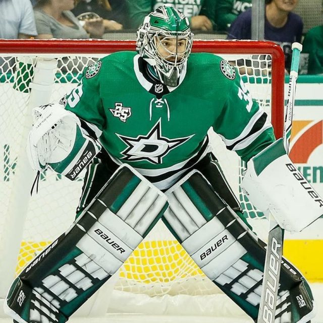 Regranned from dallasstars  The Dallas Stars have recalled goaltenderhellip